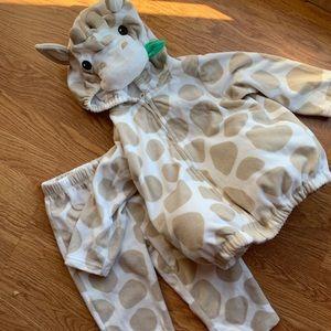 Carters 18 month giraffe costume 🦒
